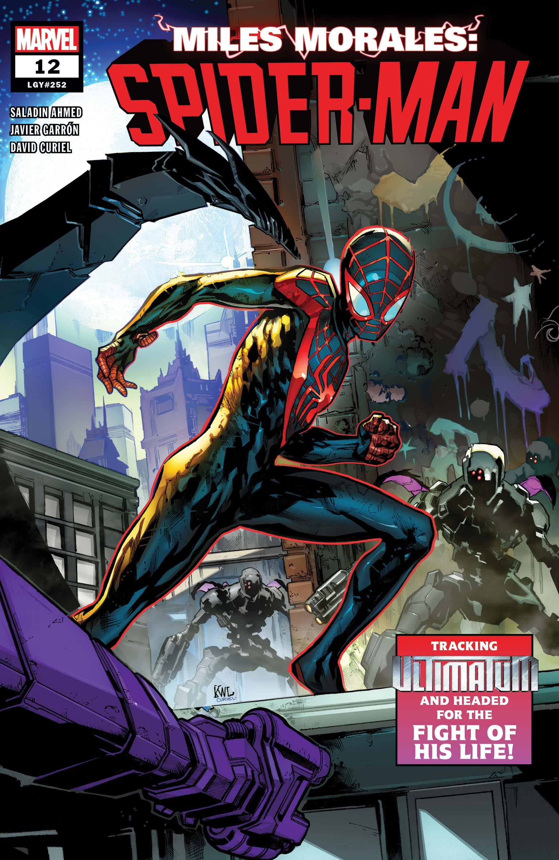Miles Morales: Spider-Man (2018) #12