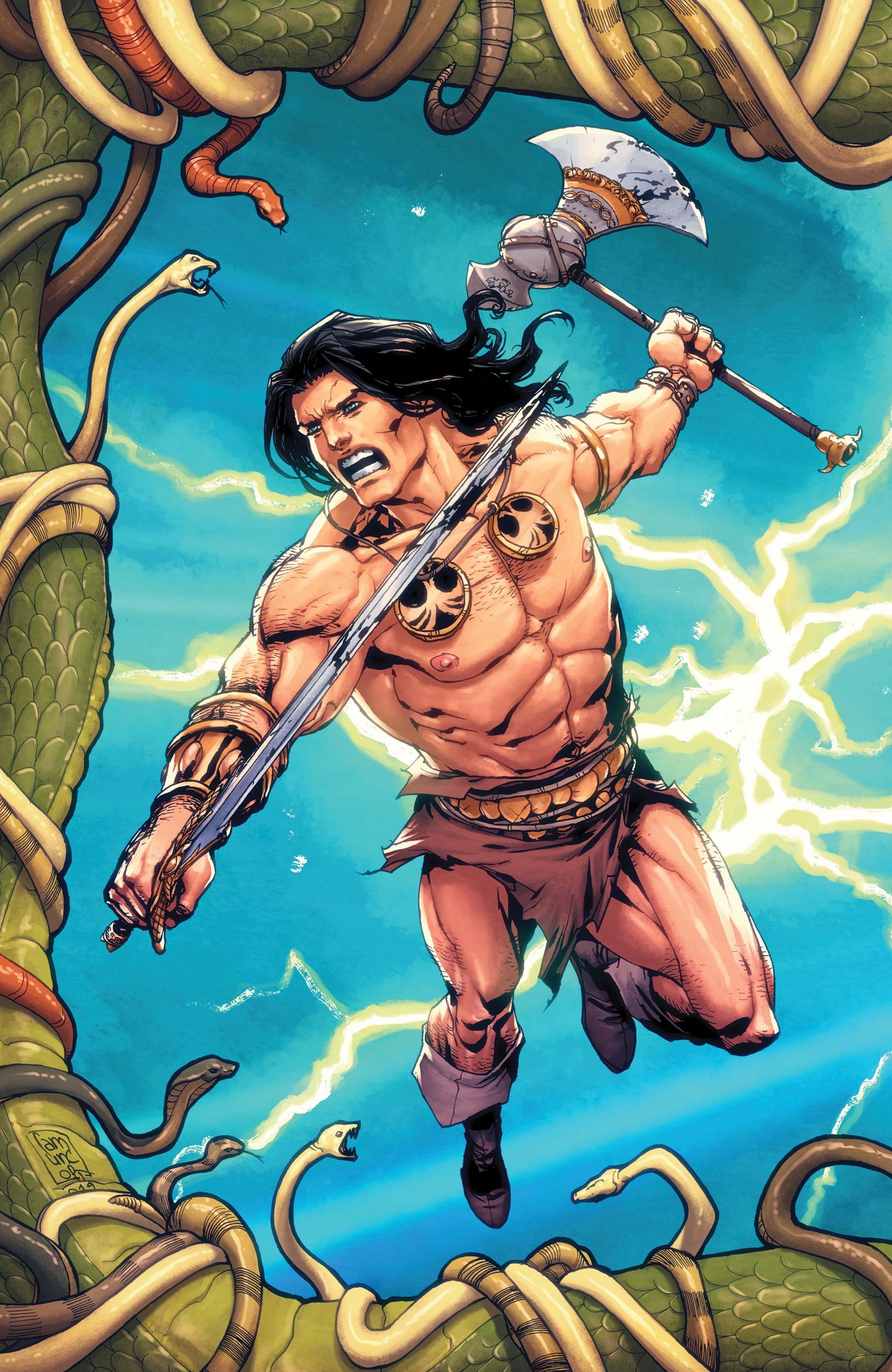 Conan: Serpent War (2019) #1 (Variant)