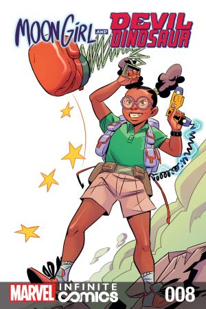 Moon Girl and Devil Dinosaur Infinite Comic (2019) #8