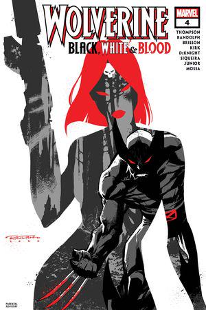 Wolverine: Black, White & Blood #4