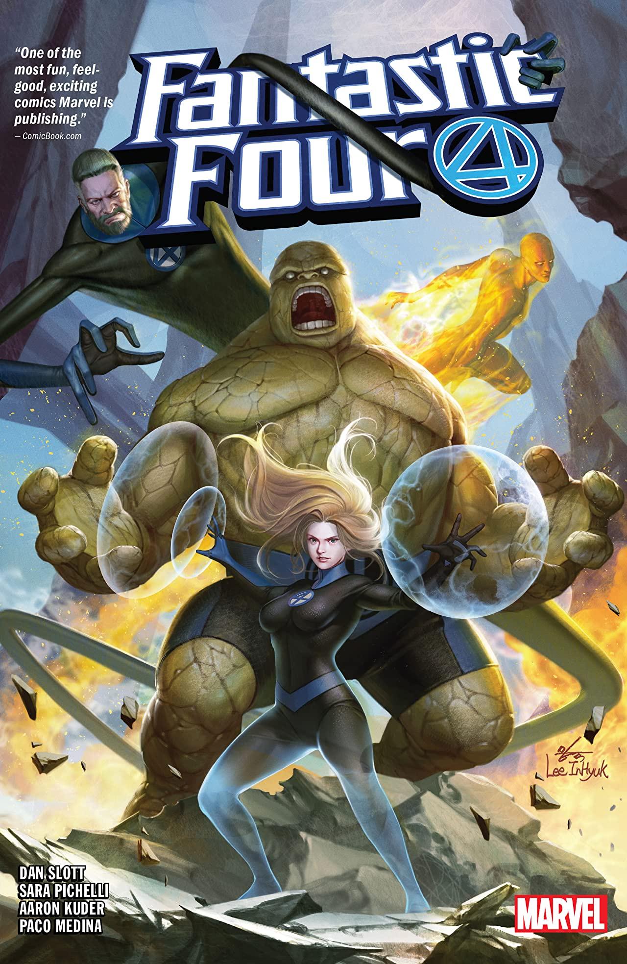 Fantastic Four by Dan Slott Vol. 1 (Hardcover)