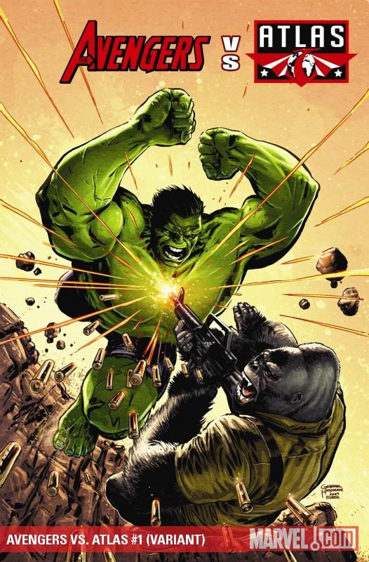 Avengers Vs. Atlas (2010) #1 (VARIANT)