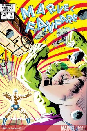 Marvel Fanfare (1982) #7