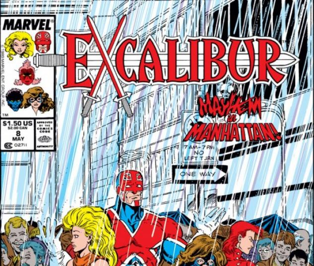 EXCALIBUR #8 COVER