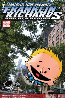 Franklin Richards: Son of a Genius #0