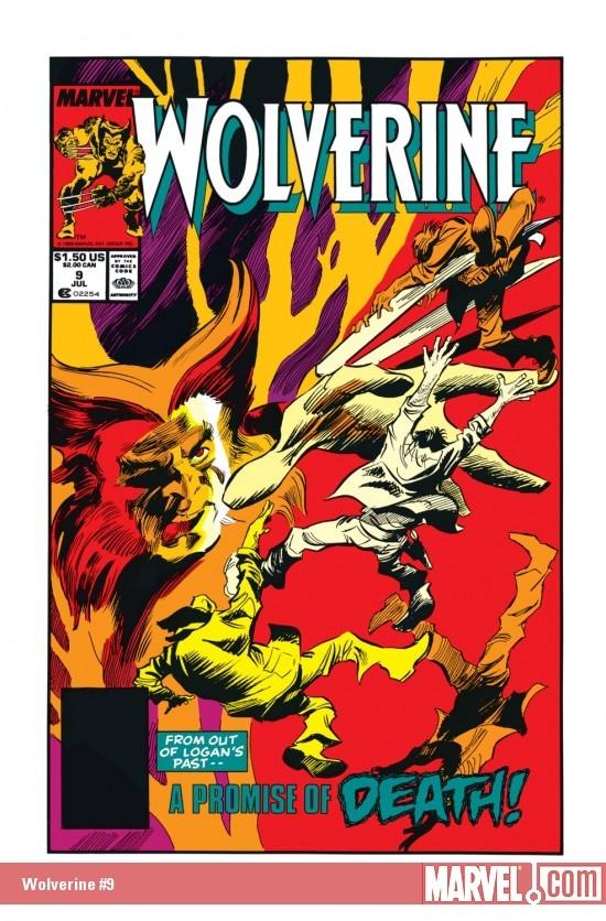 Wolverine (1988) #9