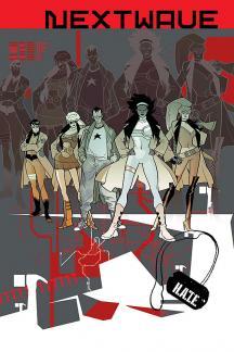 Nextwave: Agents of H.a.T.E. #5  (CRAYON BUTCHERY VARIANT)