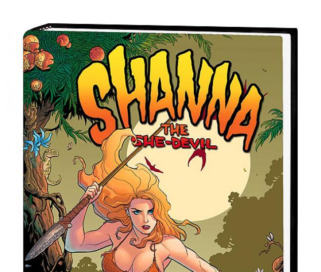 SHANNA, THE SHE-DEVIL PREMIERE COVER