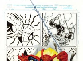 Spider-Ham Anniversary #1 cover by Joe Jusko