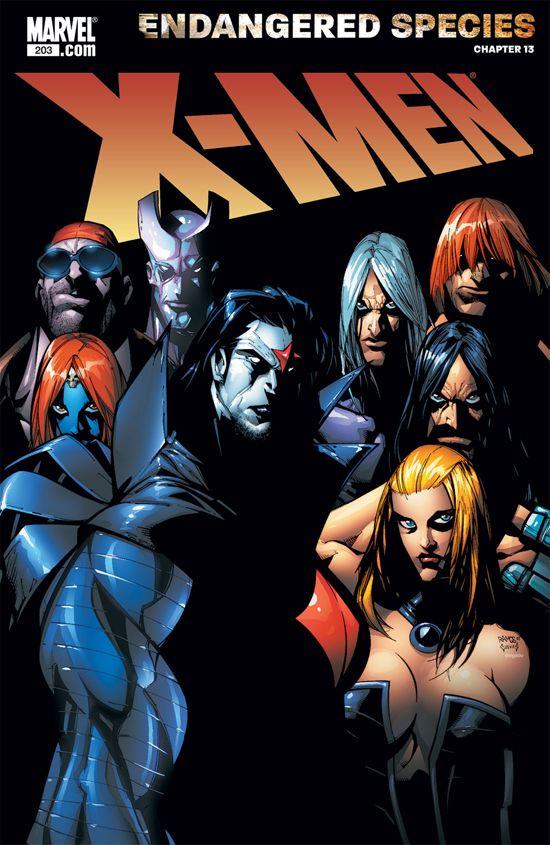 X-Men (2004) #203