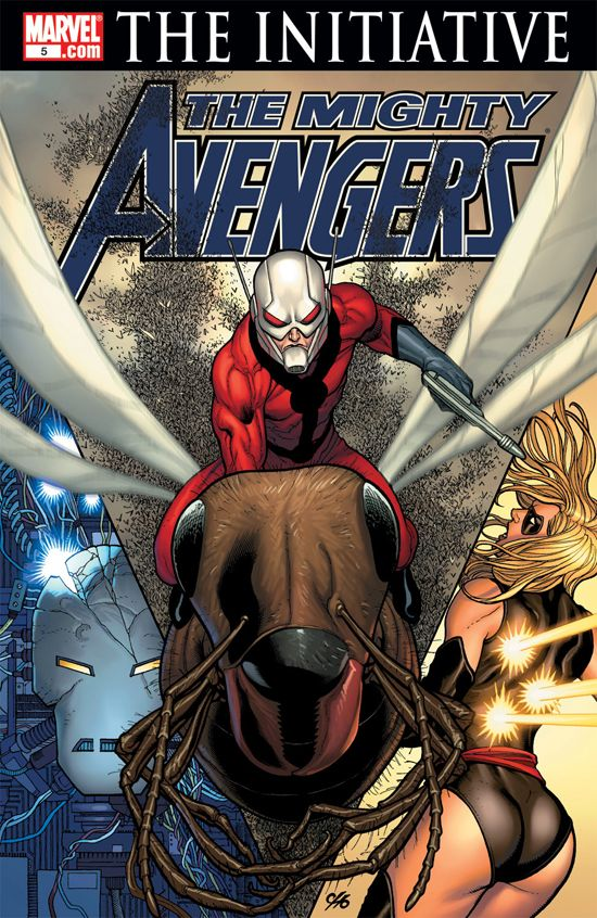 The Mighty Avengers (2007) #5