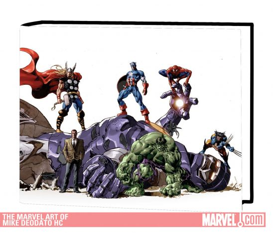 The Marvel Art of Mike Deodato (Hardcover)
