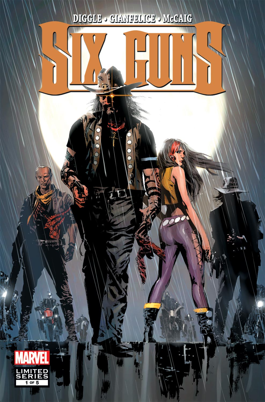 Six Guns (2011) #1