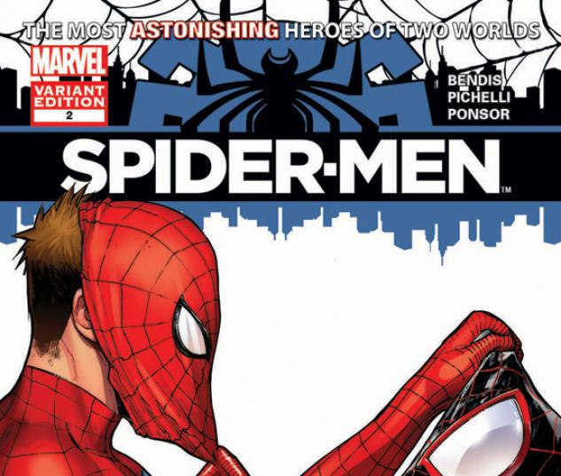 Spider-Men #2 variant cover by Sara Pichelli