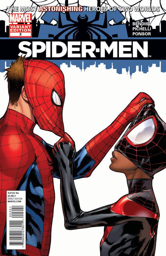 Spider-Men (2012) #2 (Pichelli Variant)