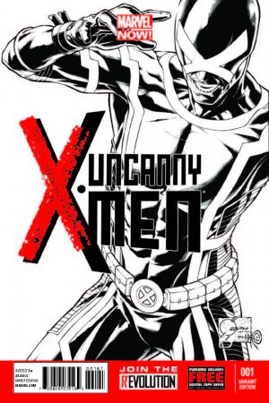 Uncanny X-Men (2013) #1 (Quesada Sketch Variant)