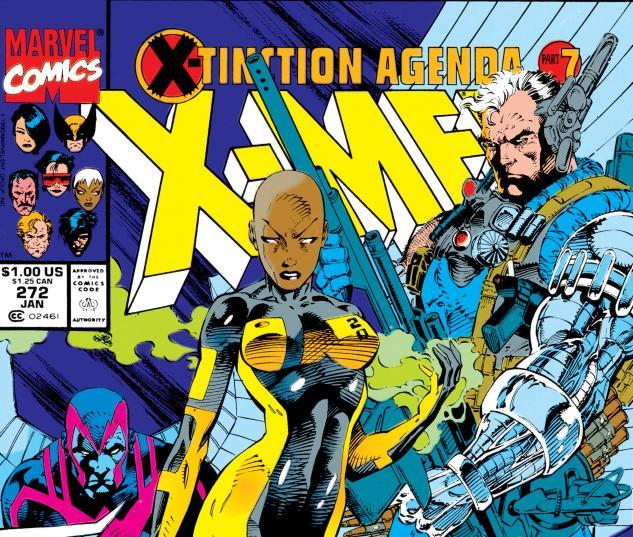 Uncanny X-Men (1963) #272 Cover