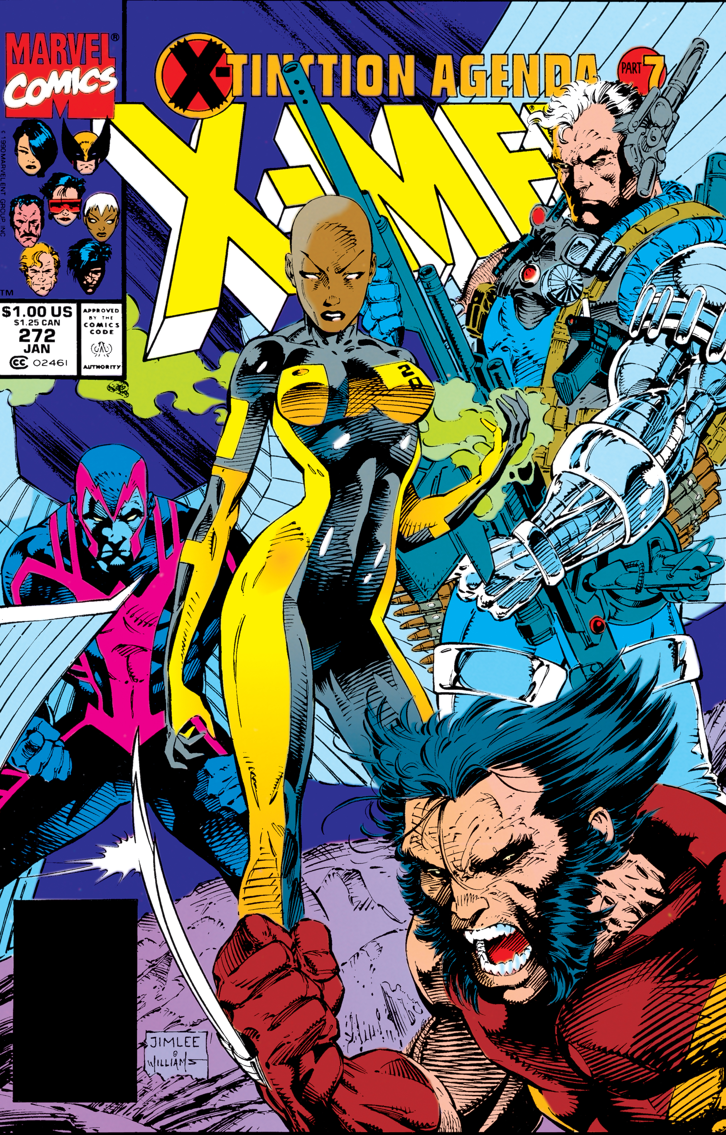 Uncanny X-Men (1963) #272