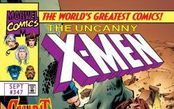 Uncanny X-Men (1963) #347 Cover