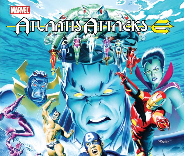 Atlantis Attacks (2011) #1