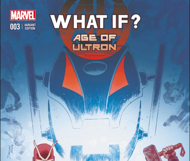 WHAT IF? AGE OF ULTRON 3 SHALVEY VARIANT (WITH DIGITAL CODE)