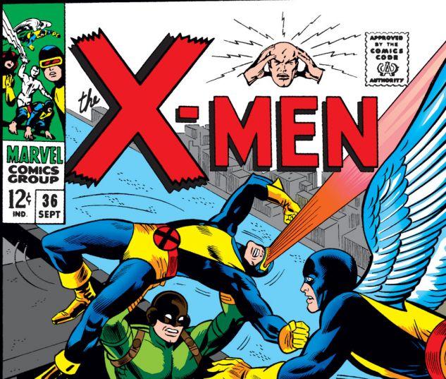 Uncanny X-Men (1963) #36 Cover