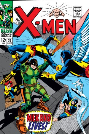 Uncanny X-Men #36