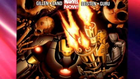 Marvel AR: Iron Man #4 Cover Recap