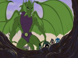 Fin Fang Foom in Marvel's Hulk and the Agents of S.M.A.S.H.