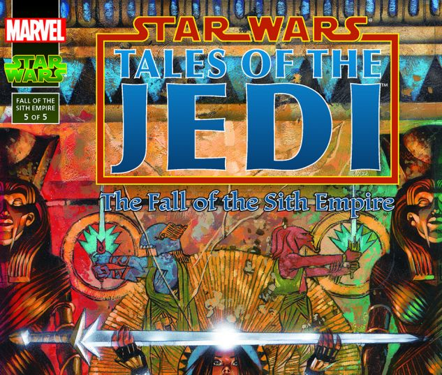 Star Wars: Tales Of The Jedi - The Fall Of The Sith Empire (1997) #5