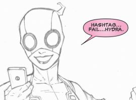 Gwenpool by Ron Lim