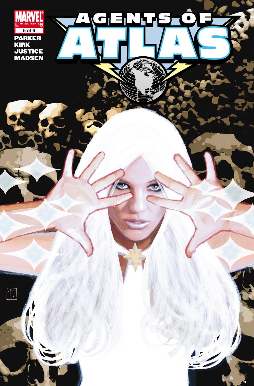 Agents of Atlas (2006) #5