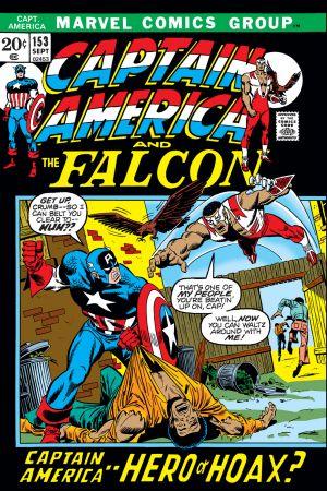 Captain America (1968) #153