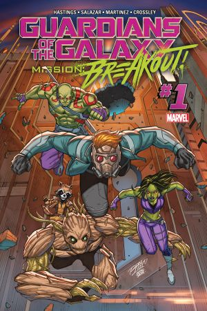 GUARDIANS OF THE GALAXY: MISSION BREAKOUT 1 #1