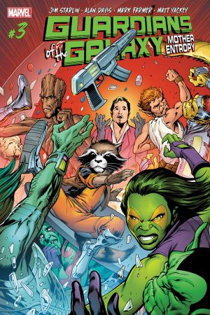 Guardians of the Galaxy: Mother Entropy #3