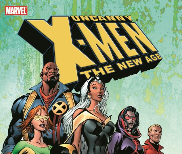 cover to Uncanny X-Men - The New Age Vol. 1: The End of History (2004)