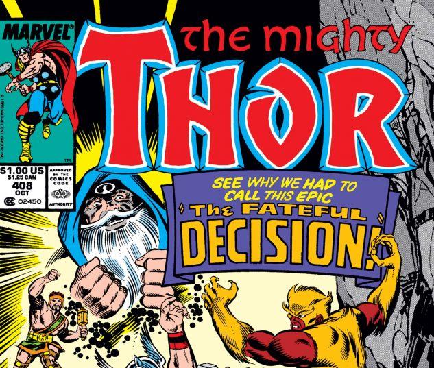 THOR (1966) #408