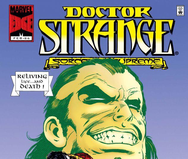 Cover for DOCTOR STRANGE, SORCERER SUPREME 86