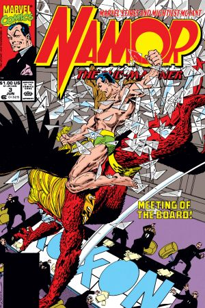 Namor: The Sub-Mariner (1990) #3