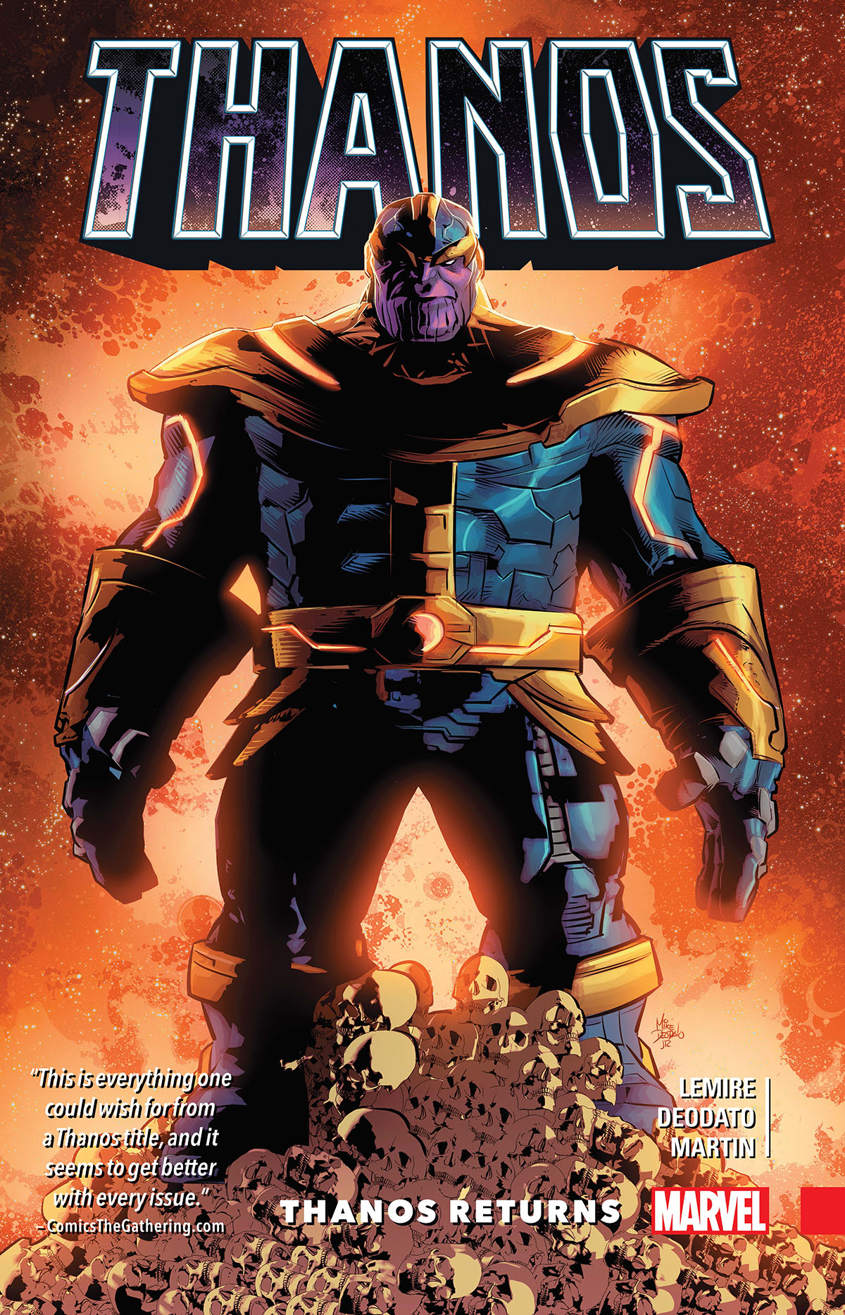 Thanos Vol. 1: Thanos Returns (Trade Paperback)