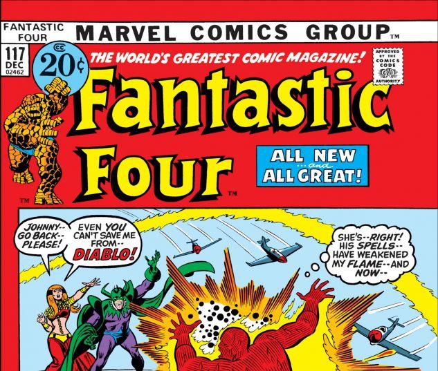 FANTASTIC FOUR (1961) #117