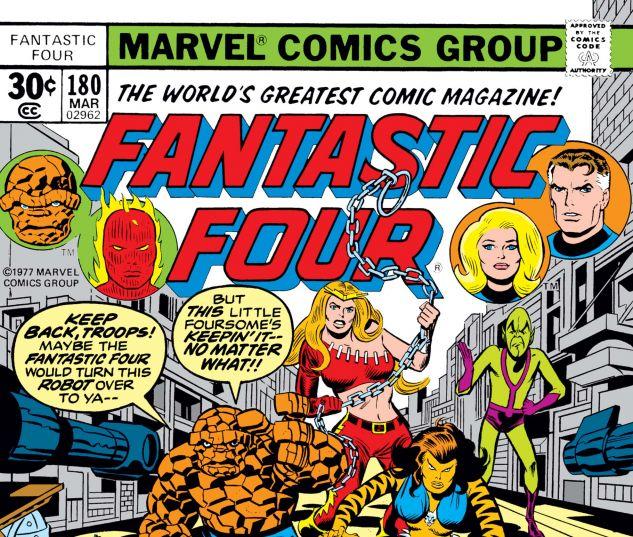 Fantastic Four (1961) #180