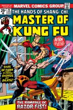 Master of Kung Fu (1974) #29 cover