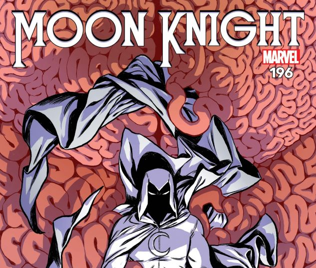 cover from Moon Knight (2017) #196