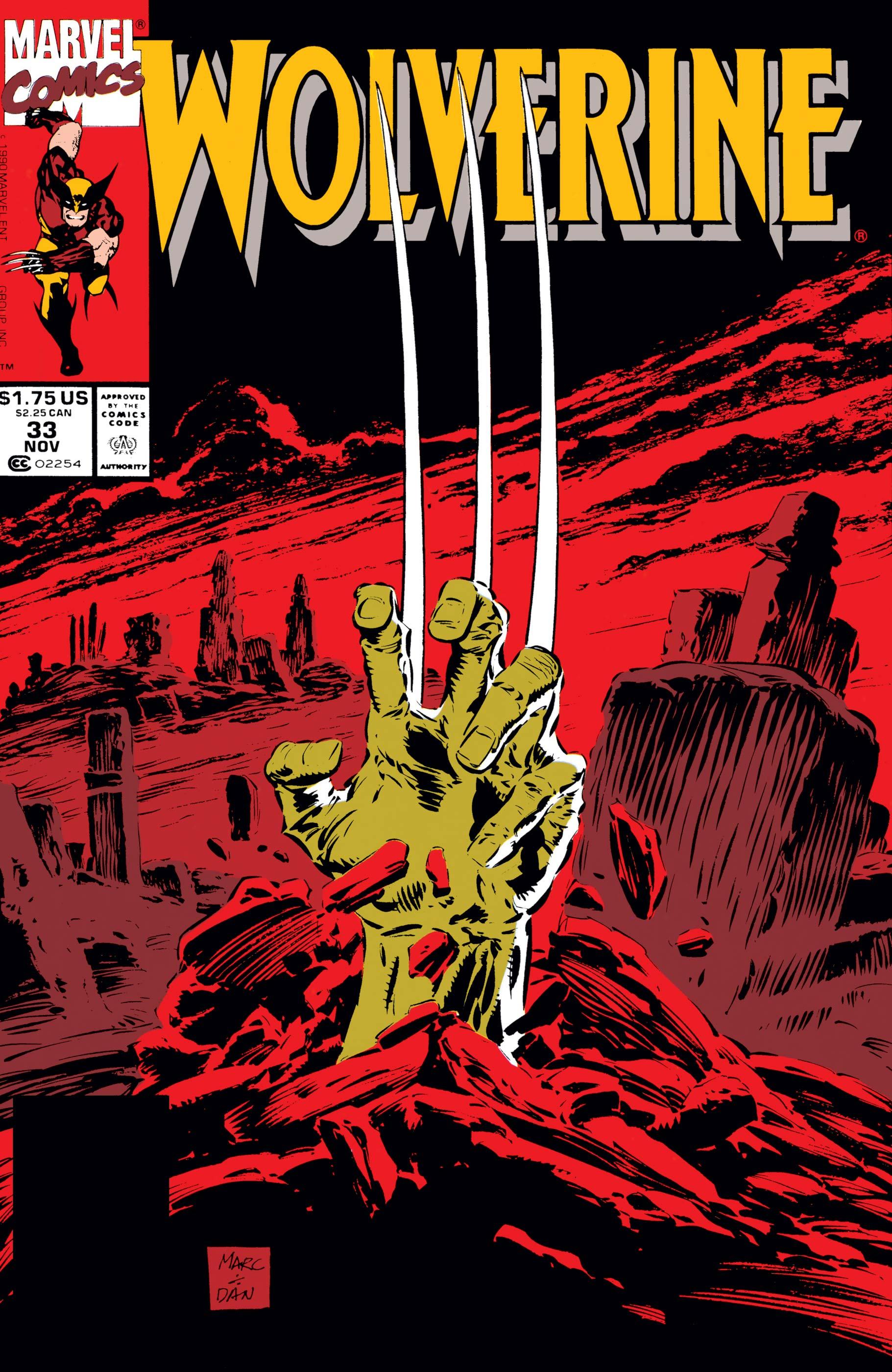 Wolverine (1988) #33