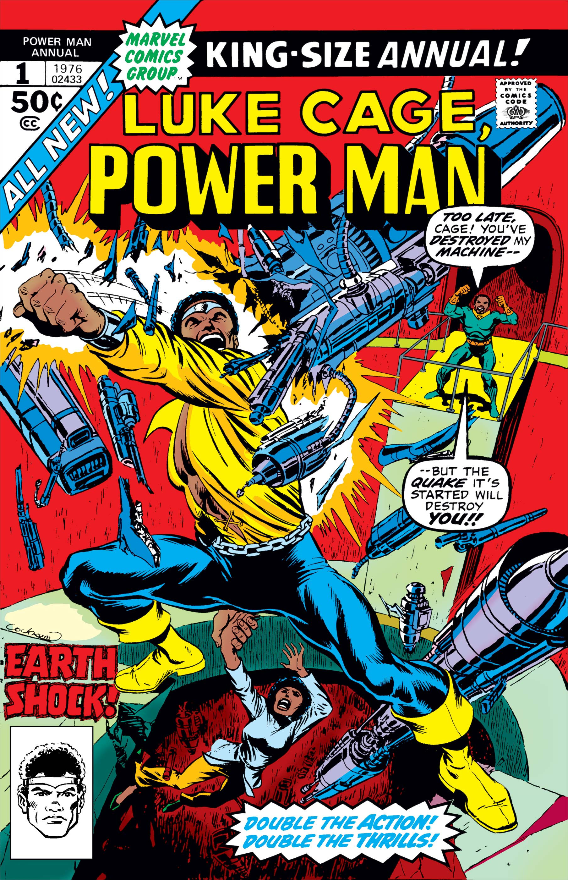 Power Man Annual (1976) #1