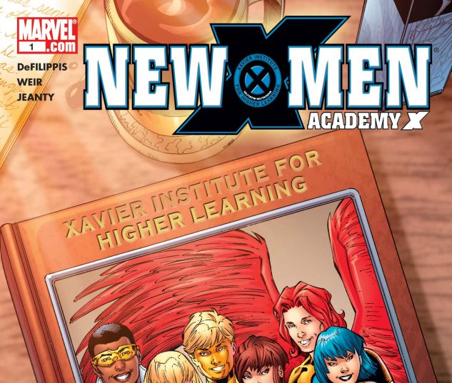 NEW X-MEN: ACADEMY X YEARBOOK SPECIAL (2005) #1