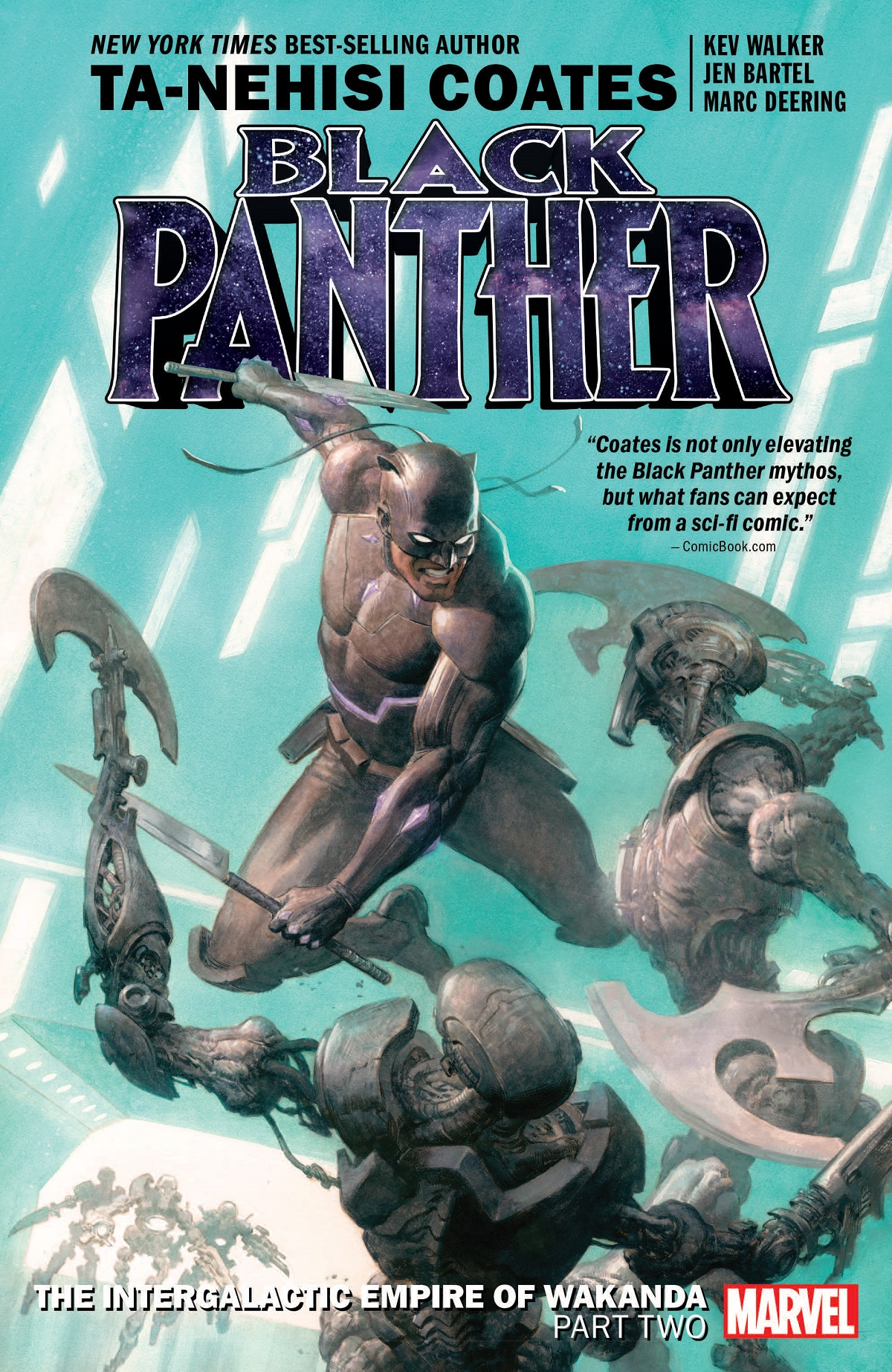 Black Panther Book 7: The Intergalactic Empire Of Wakanda Part Two (Trade Paperback)