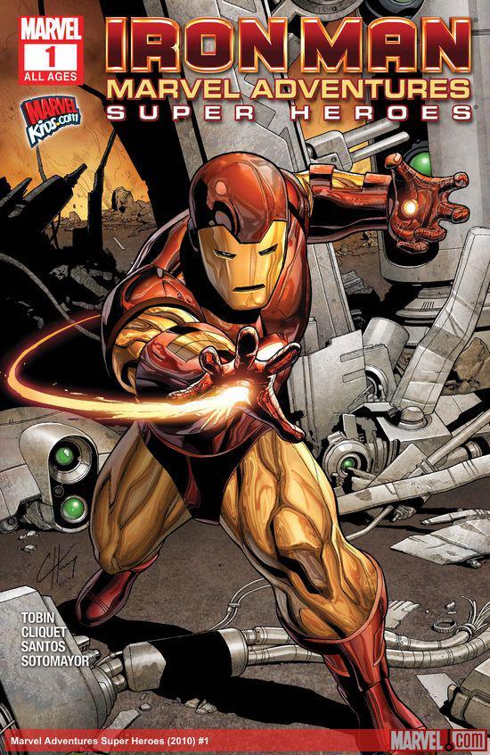 Marvel Adventures Super Heroes (2010) #1