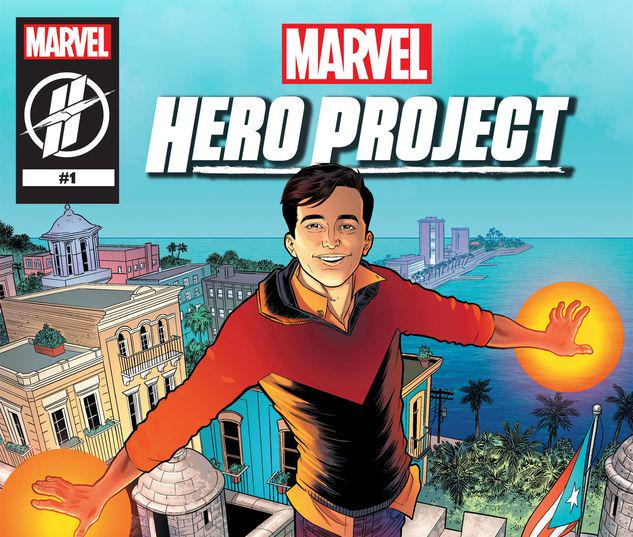 MARVEL'S HERO PROJECT SEASON 1: SUPERIOR SALVADOR #1